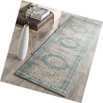 Safavieh Sofia Collection SOF365A Vintage Light Grey and
