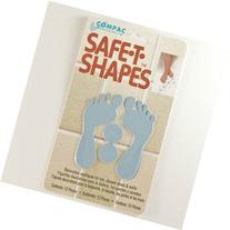 Safe-t-shapes Blue Feet Safety Applique - Bath Tub Shower