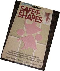 Safe-t-shapes Pink Fish Non-slip Safety Applique Stickers -