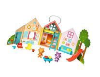 Sago Mini - Portable Playset: Jinja's House