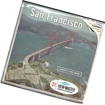 San Francisco California 3d View-Master 3 Reel Packet -