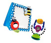 Sassy Floor Mirror with Sensation Station Activity Toy