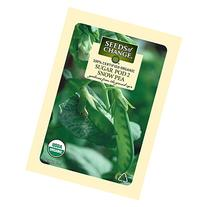 Seeds of Change Certified Organic Pea, Sugar Pod 2 - 12