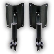 Seismic Audio - Pair  Wall Mount Metal PA Speaker Stand for