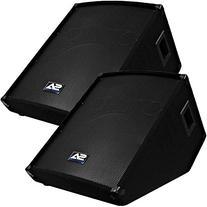 "Seismic Audio - SA-15MT  - Pro Audio PA/DJ 15"" Monitors -"