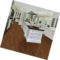 MegaDeal Vinyl Plank Flooring, American Walnut, 4 Boxes