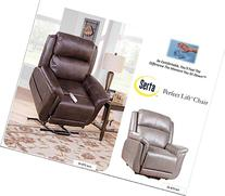 Serta Perfect Lift Chair; This Wall Hugger Recliner Plush