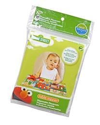 Sesame Street Biodegradable Table Topper Disposable Stick-on