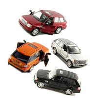 "Set of 4: 5"" Range Rover Sport SUV 1:38 Scale  by Kinsmart"