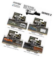 Set of 4: Greenlight Hitch & Tow Series 2 1:64 Scale