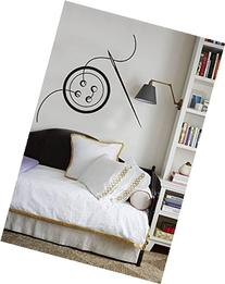 """Sewing Buttons ~ Wall Decals ~ 13"""" x 15"""" ~ Black or Color"""