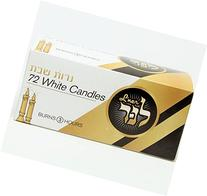 L'ner Shabbat Taper candles 3 Hour- 72 Count