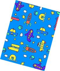 SheetWorld Fitted Pack N Play  Sheet - Kiddie Transport -