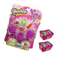 Shopkins Season 2 Value Pack - 9 Shopkins, 5 Bags and 2
