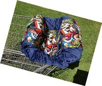 """Shopping Cart Cover """"Monsters"""
