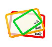 Silicone 3 Piece Non Stick Baking Mats with Measurements 2