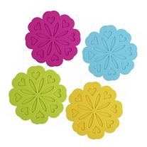 Silicone Pot Holders, Trivet Mat, Jar Opener, Spoon Rest and