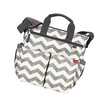 Skip Hop Duo Signature Diaper Bag with Portable Changing Mat