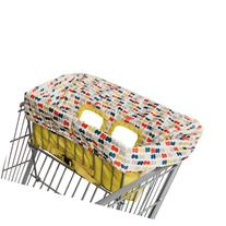 Skip Hop On The Go 2-in-1 Take Cover Grocery Cart and High