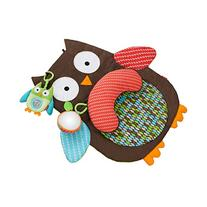 Skip Hop Hug-and-Hide Tummytime Playmat, Owl