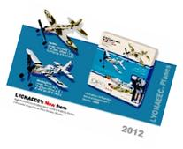 Sky Blue Flight 2-Plane Kit with P-51 Mustang and Spitfire