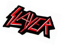 Slayer hard rock music band logo Iron on Patch