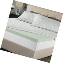 Zinus Sleep Master Memory Foam 2 Inch Mattress Topper, Queen