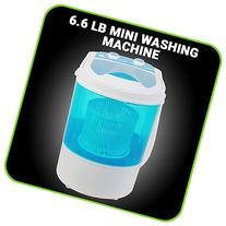 Small Mini Portable Compact Washing Machine 6.6 LB Capacity