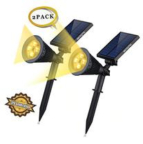 Solar LED Lights-   Siensync 2-in-1 Solar Powered Outdoor