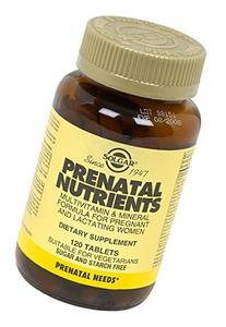 Solgar - Prenatal Nutrients Tablets - 120