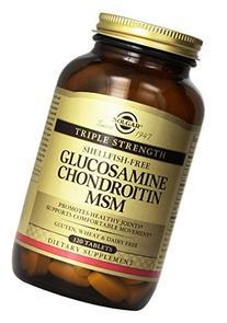 Solgar - Triple Strength Glucosamine Chondroitin Msm, 120