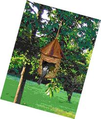 Songbird Essentials SE10345 Small Hanging Grass Twine House
