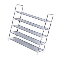SONGMICS 5 Tiers Utility Steel Shoe Rack Shoe Storage