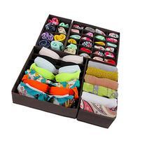 SONGMICS Closet Underwear Organizer Drawer Divider for Bras