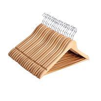 SONGMICS Hangers, 20 Pack - Selected Solid Wooden Hangers