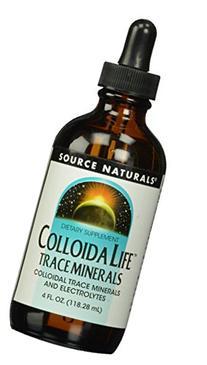 Source Naturals - ColloidaLife Trace Minerals - 4 oz