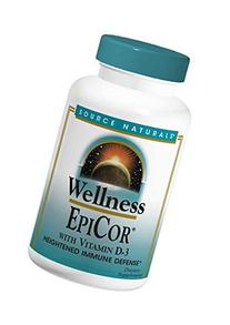Source Naturals Wellness EpiCor With Vitamin D-3, Heightened