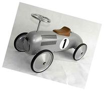 Speedster Racer Car in Silver Tone Finish