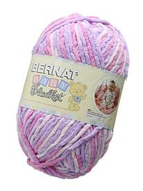Bernat Baby Blanket Yarn, 10.5 Ounce, Pretty Girl, Single