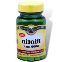 Spring Valley - Biotin 5000 mcg, Super Potency, 120 Softgels