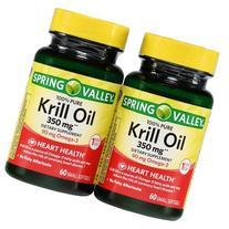 Spring Valley - Krill Oil 300 mg, Omega-3, 120 Small