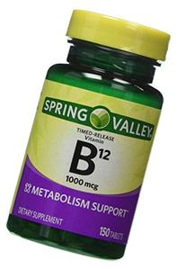 Spring Valley - Vitamin B-12 1000 mcg, Timed Release, 300