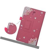 Spritech 3D Bling Flip Folio Smart Shell Case Premium PU