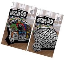 Star Wars Classic Kids 5 Piece Bed in a Bag Full Bedding Set