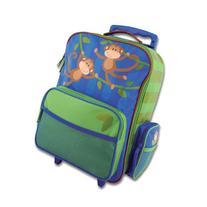 Stephen Joseph Boys' Rolling Luggage, Monkey