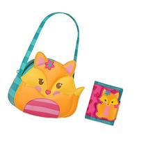 Stephen Joseph Little Girls Fox Purse and Wallet Combo -