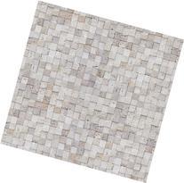 Stone Tile Pattern Contact Paper Self-adhesive Peel-stick Wallpaper M18