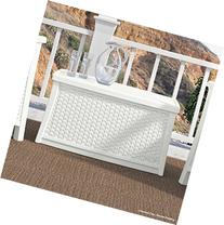 Storage Deck Bench Box - contemporary Style with Double Wall