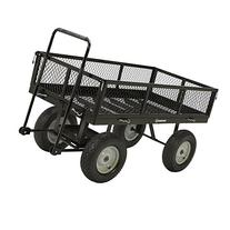 Strongway Heavy-Duty Jumbo Crate Wagon - 60in.L x 31 1/2in.