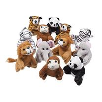 Stuffed Toy, Set of 12 Plush Animals, Includes a Plushed